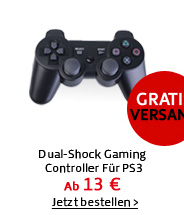 Dual-Shock Gaming Controller Für PS3