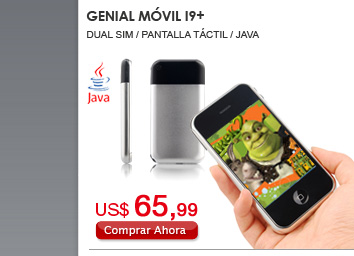 Genial Móvil I9+