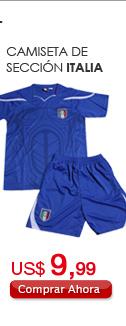 Camiseta de Sección Italia