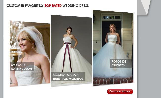 Favoritos de Cliente: Vestidos de Novia Más