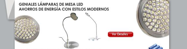 Geniales Lámparas de Mesa LED