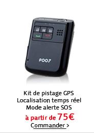 Kit de pistage GPS