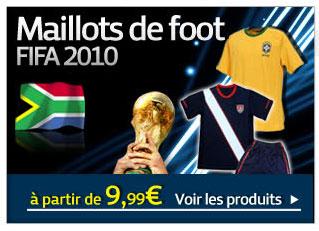 Maillots de foot FIFA 2010