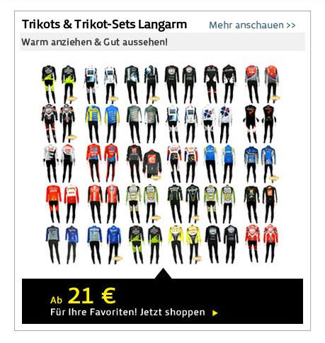 Trikots & Trikot-Sets Langarm