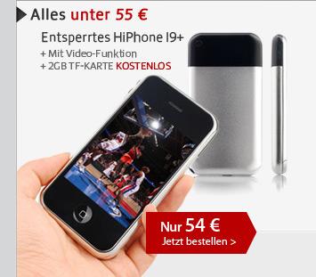 Entsperrtes HiPhone I9+