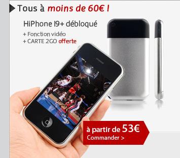 HiPhone I9+ débloqué