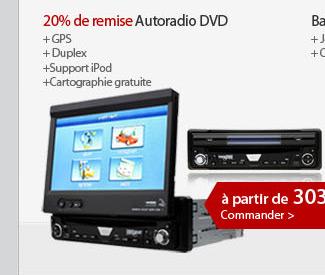 20% de remise Autoradio DVD