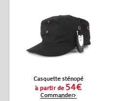 Casquette sténopé