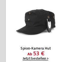 Spion-Kamera Hut