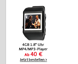 4GB 1.8 Uhr MP4/MP3-Player