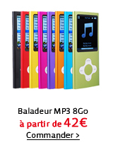 Baladeur MP3 8Go