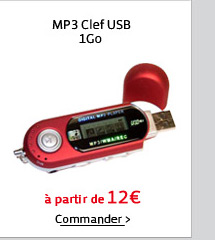 MP3 Clef USB