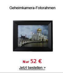 Geheimkamera-Fotorahmen