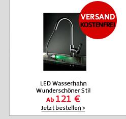 LED Wasserhahn