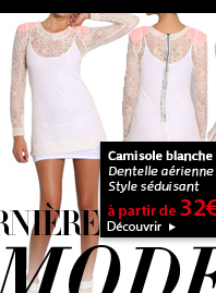 Camisole blanche
