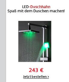 LED-Duschhahn