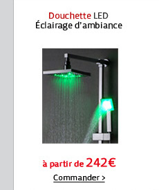 Douchette LED