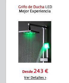 Grifo de Ducha LED
