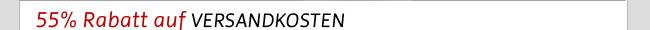 55% Rabatt auf Versandkosten für formelle Bekleidung