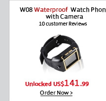 W08 Waterproof Watch Phone