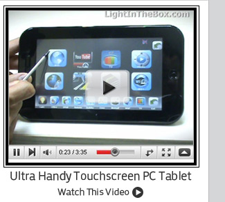 Ultra Handy Touchscreen PC Tablet