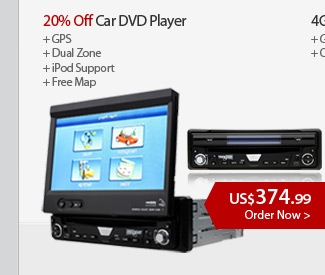 20% Off Car DVD Player