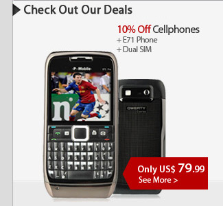 10% Off All Cellphones