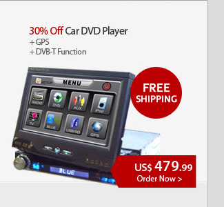 30% Off Car DVD Player