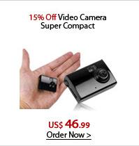 15% Off Video Camera