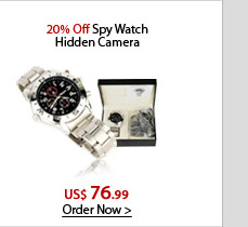 20% Off Spy Watch