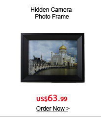 Hidden Camera Photo Frame