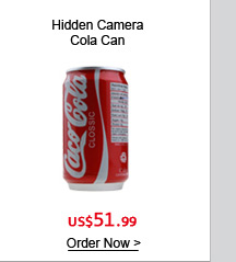 Hidden Camera Cola Can