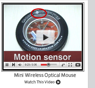 Mini Wireless Optical Mouse
