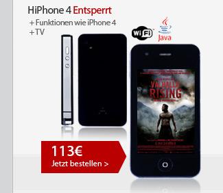 HiPhone 4 Entsperrt