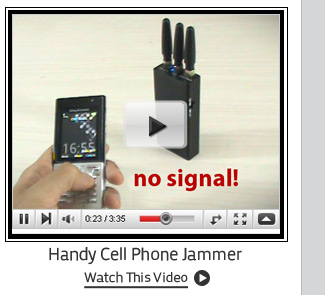 Handy Cell Phone Jammer