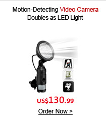 Motion-Detecting Video Camera