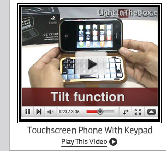 Touchscreen Phone With Detachable Keypad