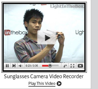 Sunglasses Camera Video Recorder