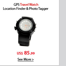 GPS Travel Watch