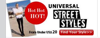 UNIVERSAL Street Styles