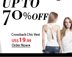 Crossback Chic Vest