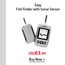 Wireless Fish Finder with Sonar Sensor