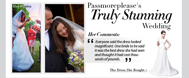 Passmoreplease's Truly Stunning Wedding