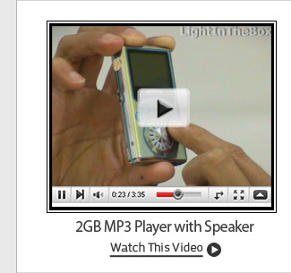2GB MP3 Player with Speaker