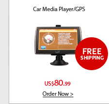 Car GPS Navigator/Media Player