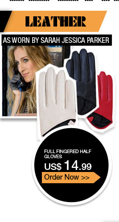 Full Fingered Half Gloves