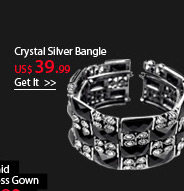 Crystal Sliver Bangle
