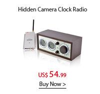 Hidden Camera Clock Radio