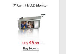"""7"""" Car Sun Visor TFT/LCD Monitor"""