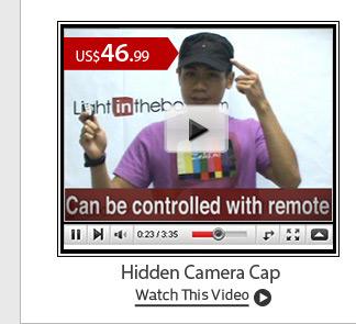 Hidden Camera Cap
